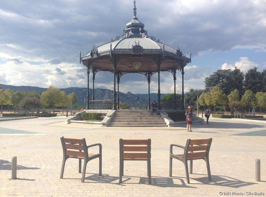 Le kiosque Peynet de Valence