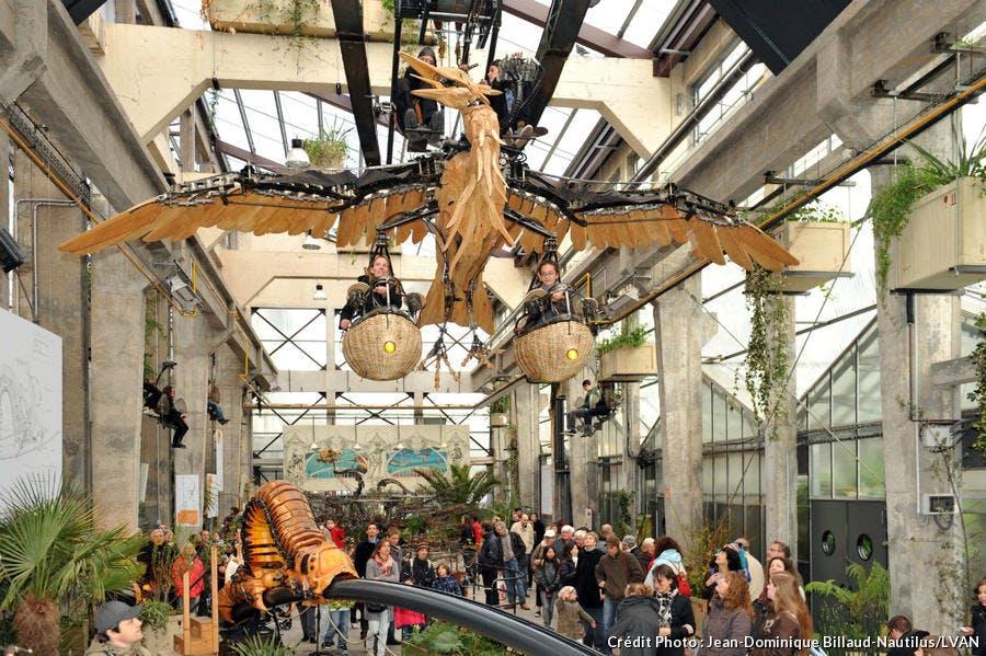 vol_du_heron_les_machines_de_l'île à Nantes