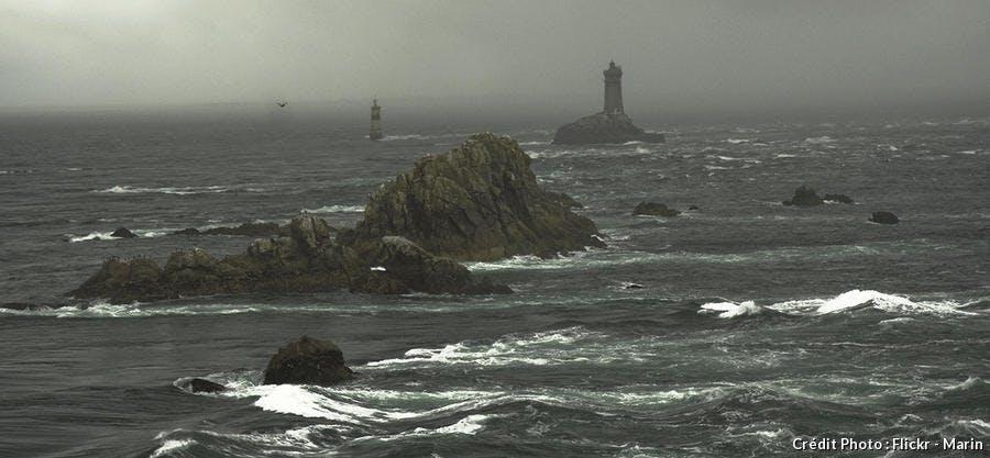 Le phare de la Vieille et la marmite de l'enfer
