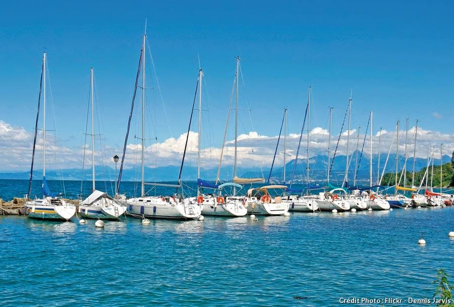 Yvoire port