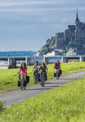 Véloscénie Mont Saint Michel