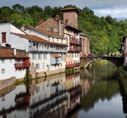 Le Pont Vieux de Saint-Jean-Pied-de-Port, au Pays Basque