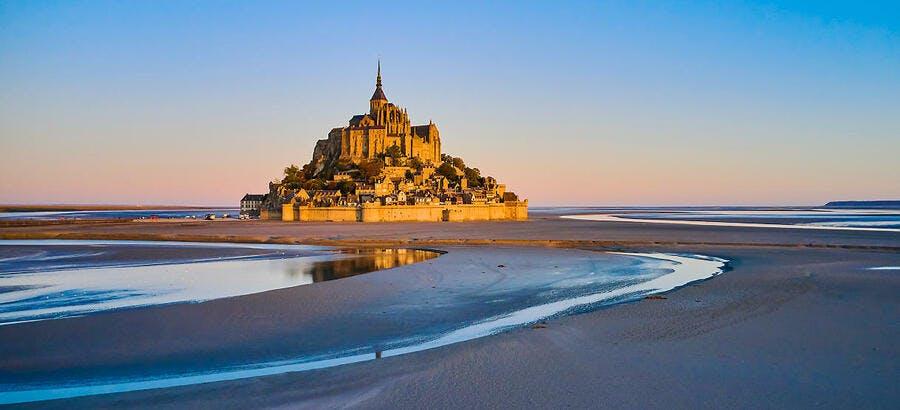 Baie du Mont-Saint-Michel, Normandie