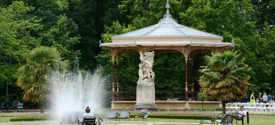 Parc du Thabor, à Rennes (Bretagne)
