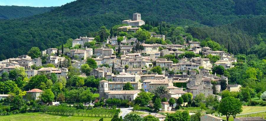 Village perché de Mirmande