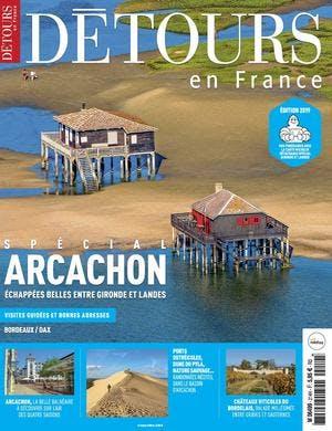 Couverture du magazine Détours en France 214