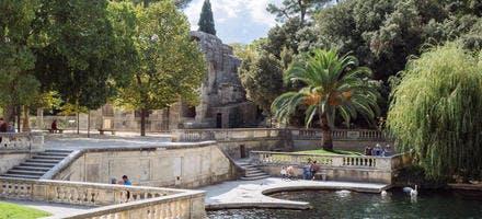 Les jardins de la Fontaine, à Nîmes