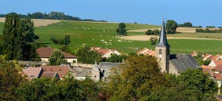 Le village de Rodemack, en Lorraine