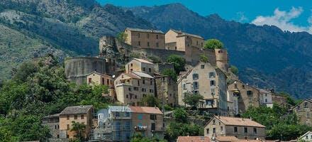 Corte en Corse