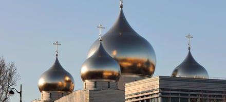 La cathédrale orthodoxe de la Sainte-Trinité, à Paris