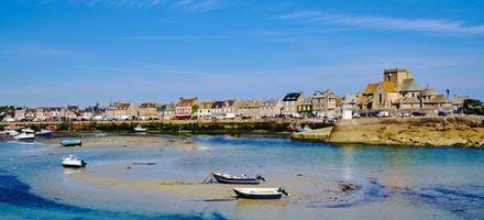 Le port de plaisance de Barfleur, Normandie