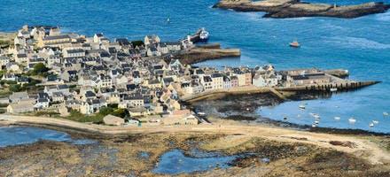 Île de Sein, dans le Finistère (Bretagne)