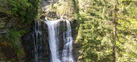 Cascade du cirque de Saint-Même dans le parc naturel régional de Chartreuse, en Savoie