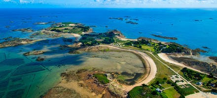 L'île de Callot dans le Finistère