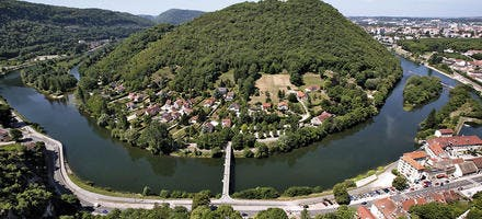 Vue depuis la citadelle de Besançon