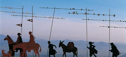 Les pèlerins de tôle de la Serra del Perdon