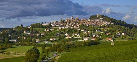 Sancerre et son vignoble, dans le Berry, sur la route Jacques Coeur