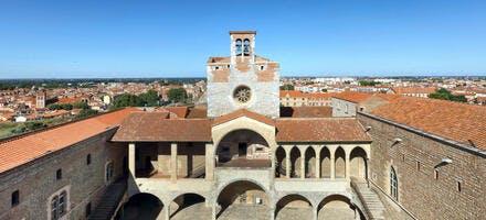 Le palais des rois de Majorque, à Perpignan