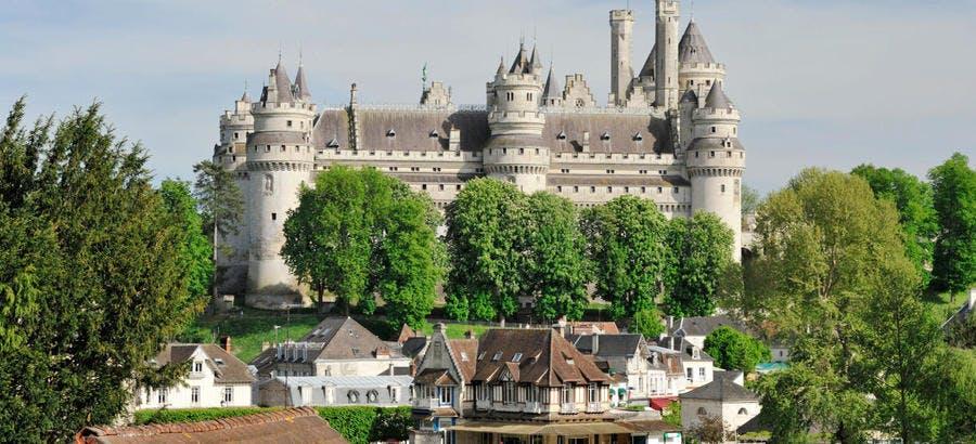 Le château de Pierrefonds, dans l'Oise