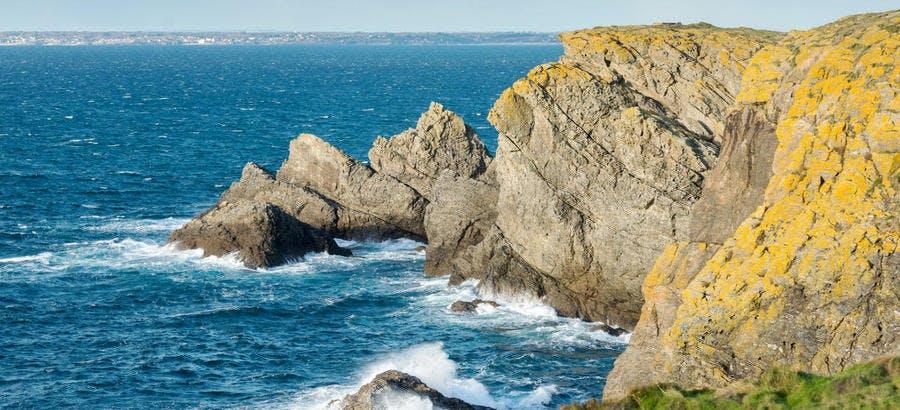 Réserve naturelle François le Bail, sur l'île de Groix (Bretagne)