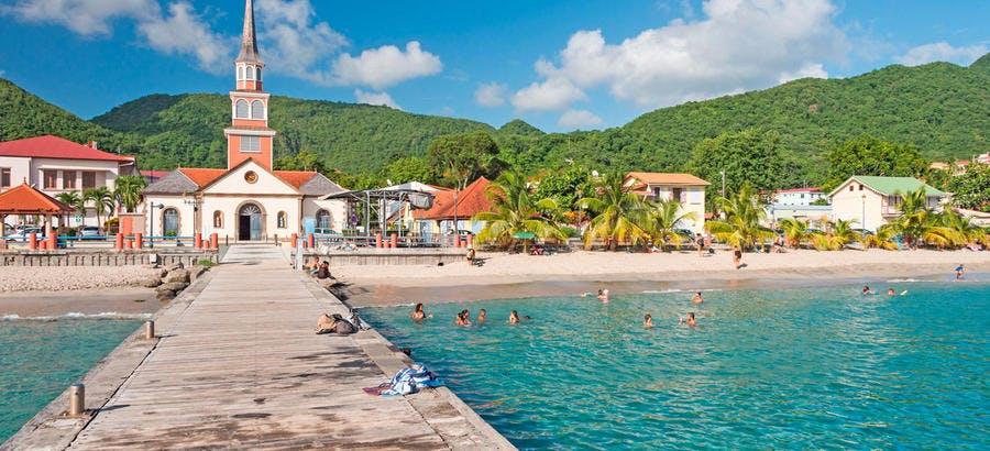 Les Anses d'Arlet en Martinique