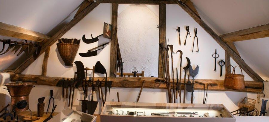 Musée de l'outil, dans le Val d'Oise
