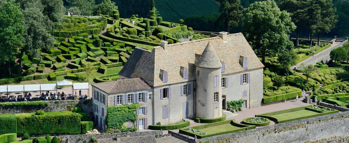 Le château de Marqueyssac, dans le Périgord