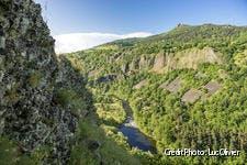 La vallée de l'Allier en Auvergne