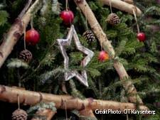 Décoration de Noël au marché de Kaysersberg