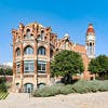 L'hopital Sant Pau à Barcelone