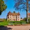 Façade du château de Couches