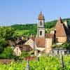 Le village d'Arbois, capitale des vins du Jura