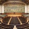 Grand amphithéâtre de l'université de la Sorbonne, à Paris