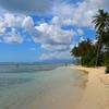 La plage de Bois-Jolan à Sainte-Anne (Guadeloupe)